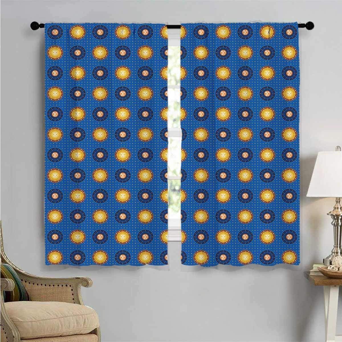 Window Max 89% OFF Curtain Drape Astronomic Price reduction Prints Ornaments Art Tr