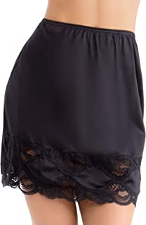 Ilusion 1017 - Classic Lace Hem Skirt Slip Choose Between 2 Lengths 18 inches or 24 inches
