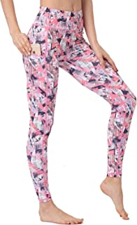 Whitewed Ladies Camouflage Printed Yoga Sports Legging Pants with Side Pockets