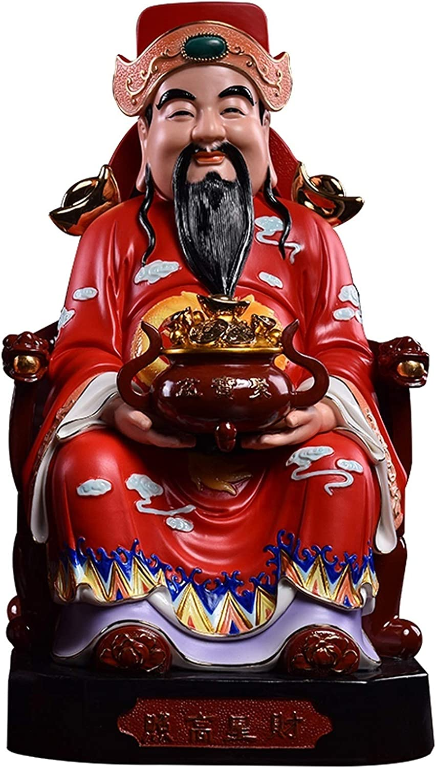 NEW ZPEE Feng Shui Decoration God of Chinese New latest Wealth Y