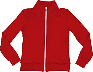 Stretch is Comfort Girl's and Women's Dance Cheer Warm Up Jacket