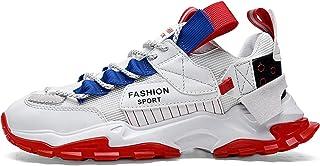 Buhui, scarpe casual da uomo, scarpe sportive con cuscino d'aria, scarpe sportive traspiranti da corsa, antiscivolo, leggere
