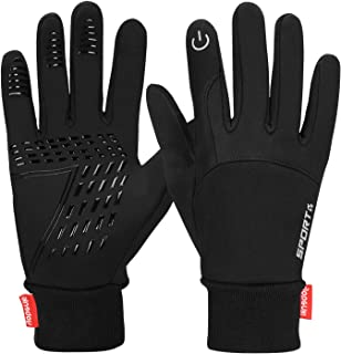 Winter Warm Gloves Women Mens Gloves Touch Screen Gloves Thermal Gloves Cycling Bike Sports Compression Gloves for Winter Early Spring Or Fall