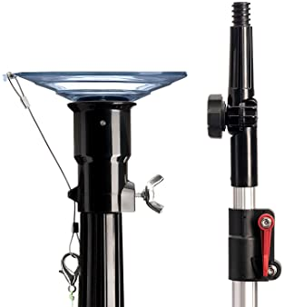 """STAUBER Best Bulb Changer with Pole - Includes The STAUBER""""Quick-Lock"""" Light Bulb Changer Extension Pole - Extends fr..."""