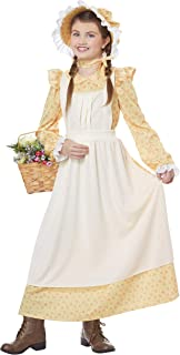 California Costumes Prairie Girl Child Costume-