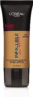 L'Oreal Paris Cosmetics Infallible Pro-Matte Foundation Makeup, Caramel Beige, 1 Fluid Ounce by L'Oreal Paris