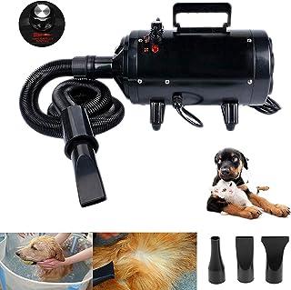 Secador de Mascotas Potente Blaster Secador de Cabello de Alta Velocidad Equipo de Control de Temperatura de Velocidad Variable sin escalones