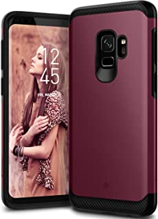 Caseology Legion for Galaxy S9 Case (2018) - Reinforced Protection - Burgundy
