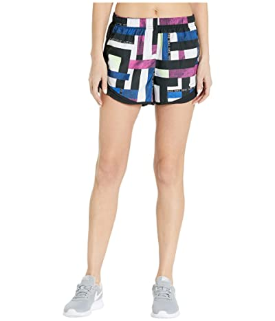 Nike Tempo Shorts Geo Print (Fire Pink/Black/Grey) Women
