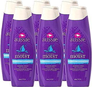 Aussie 袋鼠 - 保湿护发素 13.5fl 液体盎司 (400ml)/瓶 (6瓶装)(美国顺丰直邮包税)
