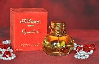 S.T. DuPont Signature Pour Femme EDP 3.3 Fl. Oz / 100ml Spray