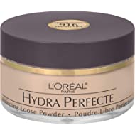 L'Oreal Paris Hydra Perfecte Perfecting Loose Face Powder, Minimizes Pores & Perfects Skin, Sets...