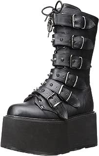 Demonia Women's Damned-225 Mid Calf Boot