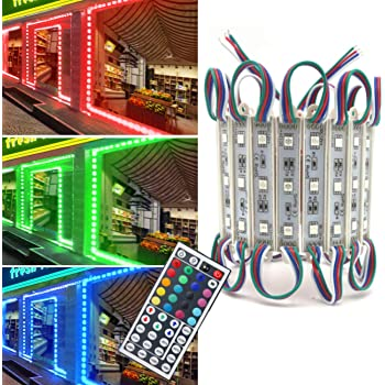 GOESWELL LED Module Light Cool White Super Bright 5630 LED Storefront Lights for Advertising Showcase Store Display Letter Sign with Tape Adhesive Backside EXPSFD006460