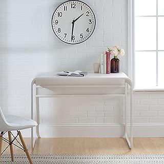WE Furniture Desk, Matte White
