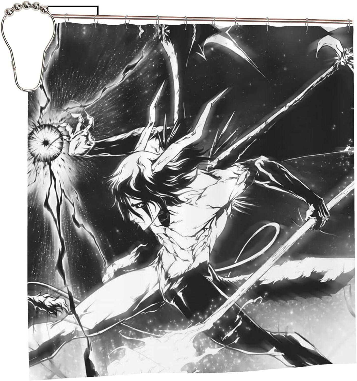 Bleach Anime Ulquiorra Max 66% OFF Cifer Bathroom Liner Selling Curtain Shower 72