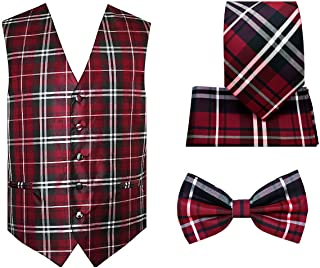 Best red plaid tuxedo Reviews