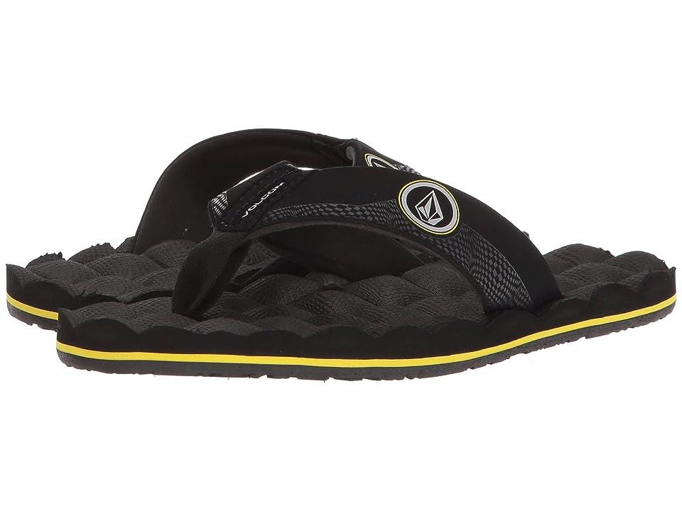 Volcom Kids Recliner (Little Kid/Big Kid) (Sulfur Black) Boys Shoes