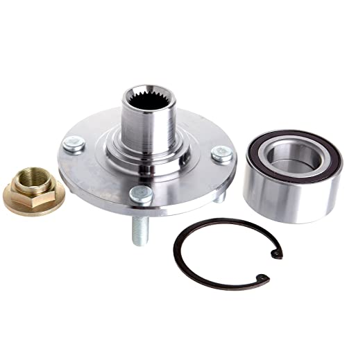1 Front Hub Bearing For 2000 2001 2002 2003 2004 2005 2006-2011 FORD FOCUS