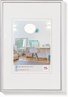Walther Design  New Lifestyle -  Marco de plástico, plata, 50 x 70 cm