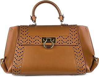 Salvatore Ferragamo レディース borsa donna a mano shopping in pelle nuova sofia カラー: ブラウン