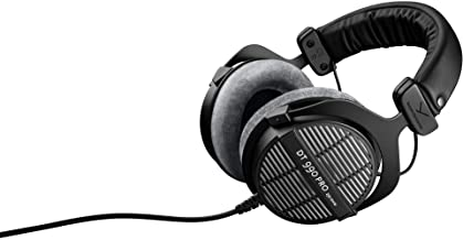 beyerdynamic DT 990 Pro 250 ohm Over-Ear Studio Headphones For Mixing, Mastering, and Editing