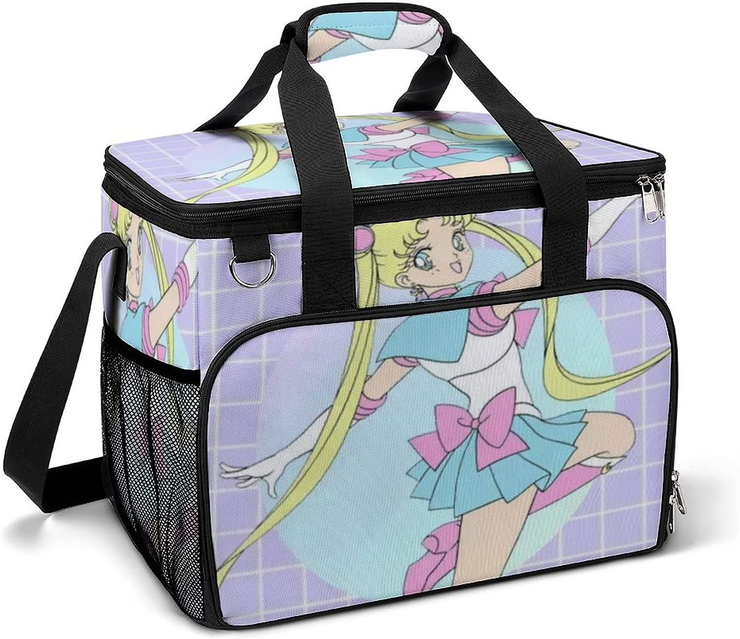 Large Anime Cooler Virginia Beach Mall Bag Lunch Insu 2021new shipping free ice Camping pack Airtight
