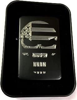 USA Flag American Punisher Black Gift Engraved Lighter Biker Gift LEN-0224