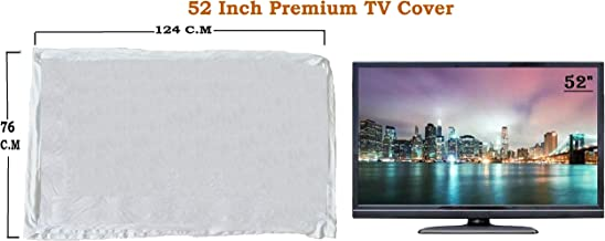 "Led Tv Cover 52"" Master Piece LED/LCD T.v Cover White….by Woolf"