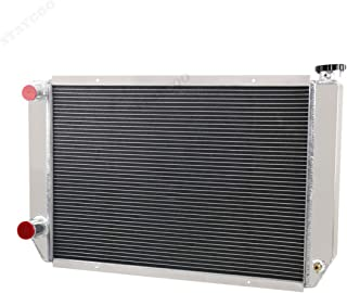 STAYCOO 2 Row Aluminum Racing Radiator for Ford/Mopar Style Heavy Duty with Double Pass, 31