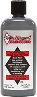 White Diamond Black Pearl Paint Protectant is a Polymer That Cleans, Polishes and Protects of Paint While not discoloring Trim or molding. Can Even Apply in Direct Sunlight!
