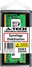 A-Tech 4GB Module for Synology DiskStation DS218+ DS718+ DS918+ NAS Servers - DDR3/DDR3L 1866Mhz PC3L-14900 1.35v SODIMM Memory Ram (Equivalent to Synology D3NS1866L-4G)