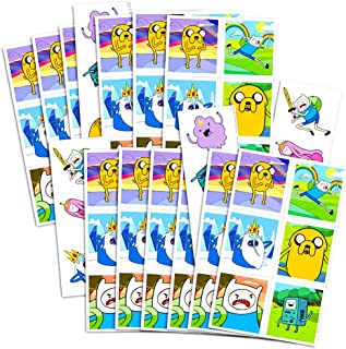 Adventure Time Stickers and Temporary Tattoos Party Favors Pack -- 70 Stickers and 12 Tattoos (Adventure Time Party Supplies)
