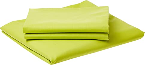 IBed Home Solid Bedsheets 3 Pieces Bedding Set - King size - lime (Green)