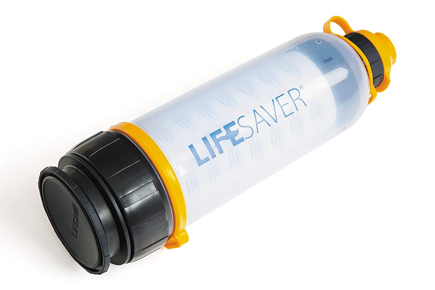 壊れたシャンパン女優LifeSaver Bottle アウトドア/緊急用 携帯浄水器 99.9999%細菌除去 4000L 1分2L 英陸軍仕様 日本語取説