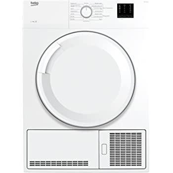 Beko Kondenstrockner WT 7132 PS /Vollelektronisch / Elektronische Feuchtemessung /LED-Display mit 3-6-9 h Startzeitvorwahl / 7 kg / B