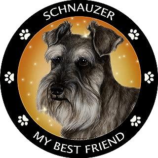 (Schnauzer Uncropped Magnet) - Schnauzer Uncropped My Best Friend Magnet