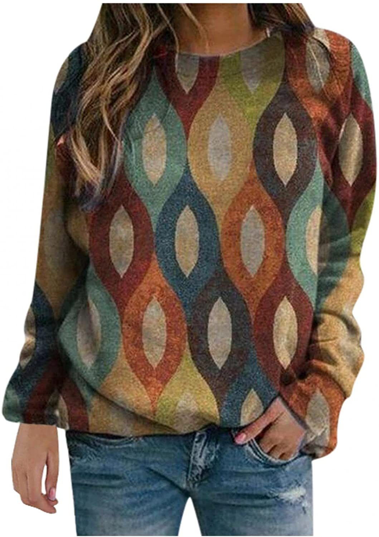 POLLYANNA KEONG Sweatshirts for Women,Womens Casual Sweatshirt Long Sleeve Shirt Soft Tops