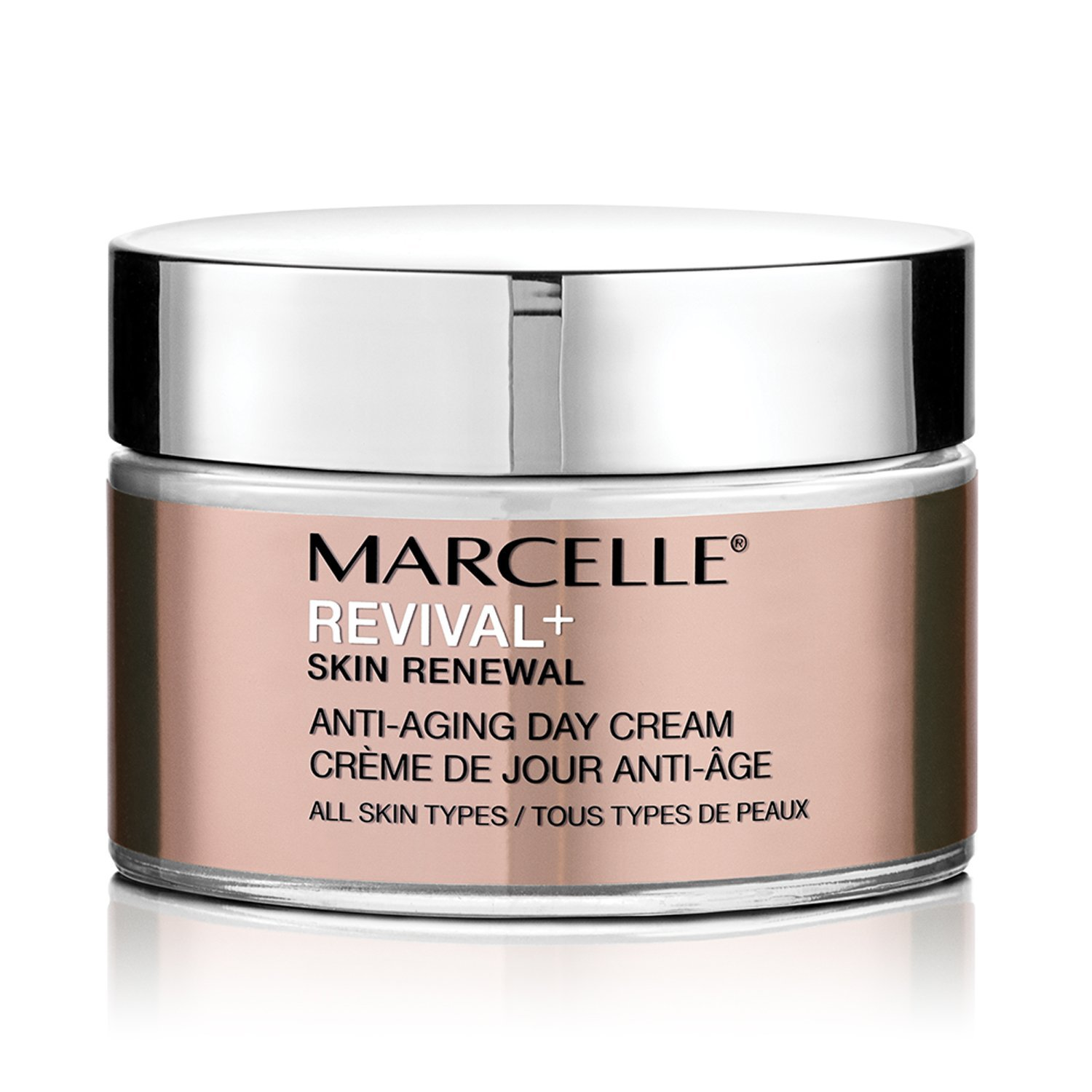 Marcelle Revival+ Skin Renewal Anti-Aging Day Cream, Hypoallergenic and Fragrance-Free, 1.7 fl oz