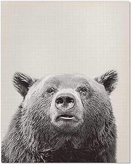 Bear Poster, Bear Print, Animal Picture, Nursery Animal Print, Animal Poster, Bear Art Print, Bear Wall Art, Black and White, Bear Art, Bear Photography, Animal Print, Farm Animal Print, 8x10