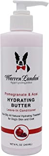Warren London Hydrating Butter Leave-in Conditioner for Dogs Skin and Coat - 2 Scents - 8 oz & 1 Gallon