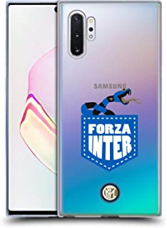 Official Inter Milan Forza Inter 2018/19 The Big Grass Snake Soft Gel Case Compatible for Samsung Galaxy Note10+