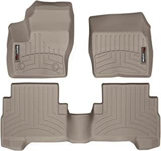 WeatherTech Custom Fit FloorLiner for C-Max/Escape - 1st & 2nd Row (Tan)