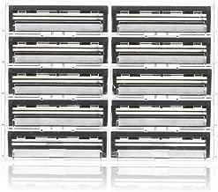 100 Personna Twin 2 ( TWIN II ) Razor blades - Compatible with GIllette's Trac 2 Razor system