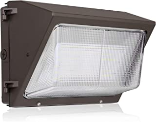 Hykolity 90W 11700lm High-Output LED Wall Pack,Brighter Than 400W MH,Photocell Optional, Outdoor Commercial LED Area Light,0-10V Dimmable,5000K Daylight, DLC Complied