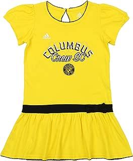 adidas MLS Girls Columbus Crew SC Floral Pitch Dress