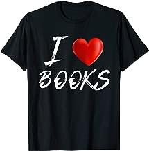 Best i heart books t shirt Reviews