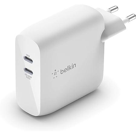Belkin Boost Charge Usb Pd Gan Ladegerät Mit Zwei Elektronik