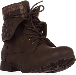 Best candies brown combat boots Reviews
