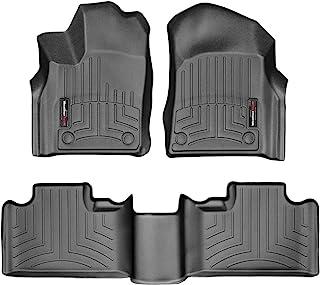 WeatherTech Custom Fit Floor Liner for Grand Cherokee/Durango - 1st & 2nd Row (Black)